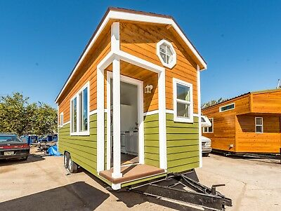 Tiny House DISCOUNTED SHOWROOM 9 x 22 NW BUNGALOW SINGLE LOFT 198 sq ft