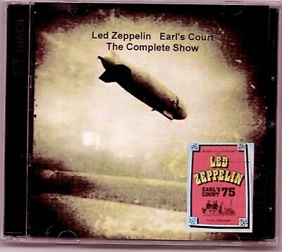 Complete Concert Led Zeppelin at Earls Court 1975 2 DVD set Dolby Stereo