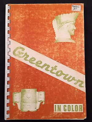 1969 Book-Greentown In Color-Ralph & Louise Boyd-First Ed-Signed+Price Guide