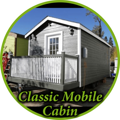 ______Tiny House DISCOUNTED____________CLASSIC CABIN SINGLE LOFT 9 X 20