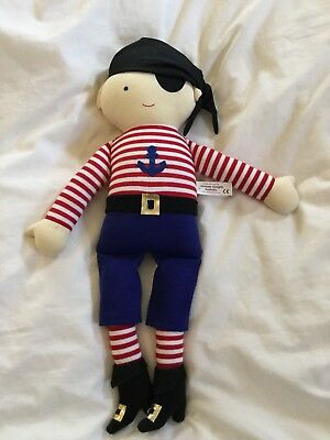 Alimrose Designs Pirate Cloth Doll