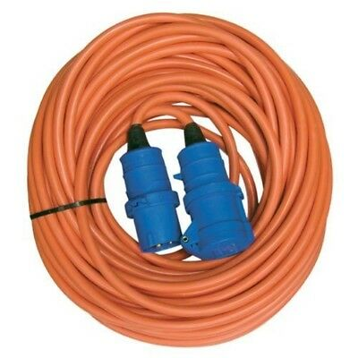 NEW 25 Metre 1.5mm Caravan Motorhome Camping Extension Electrical Hook Up Cable