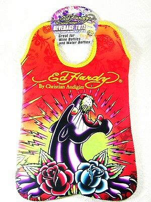 Large Brand New Ed Hardy Panther Tote by Christian Audigier
