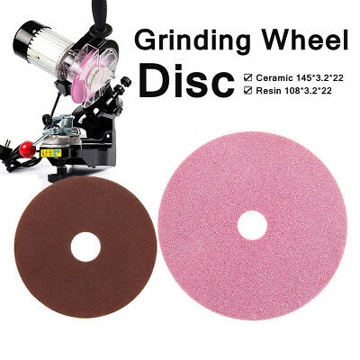 Grinding Wheel Disc Replacement For Chainsaw Sharpener Grinder 3/8 & 404 Chain