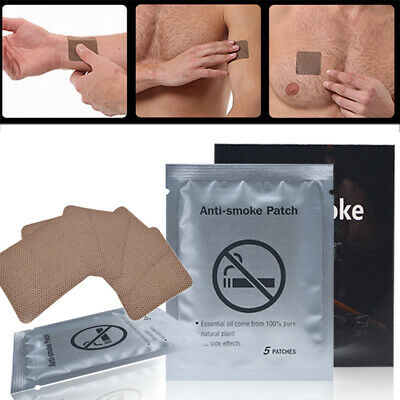 35 Pcs Unisex Anti Smoke Patch Sumifun Stop Smoking Smoking Cessation Patch
