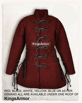 Gambeson for women Medieval gambeson SCA gambeson Padded armor Arming jacket