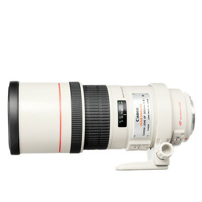 NEW Canon EF 300mm f/4L IS USM Lens For EOS 1 Year Warranty