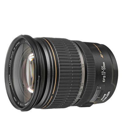 NEW Canon EF-S 17-55mm f/2.8 IS USM Lens For EOS 1 Year Warranty