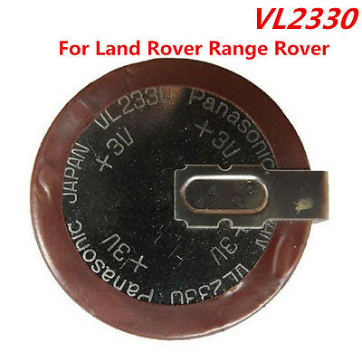3V 50mAh VL2330 Rechargeable Key Fob Battery For Land Rover Range Rover Key Fob