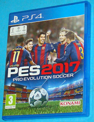 PES 2017 - Pro Evolution Soccer 2017 - Sony Playstation 4 PS4 - PAL