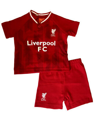 Liverpool FC Baby T-shirt & Shorts Set | 2018/19 Season | Official Licensed