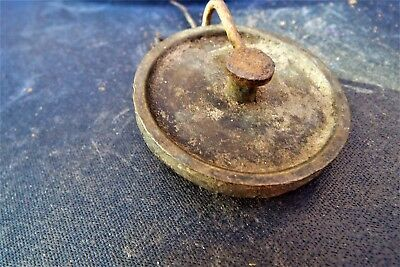 Vintage  Clock /  Pulley Wheel