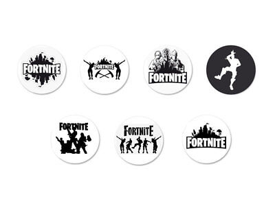Lot Pack Badge Button Pins Ø25mm Fornite Victory Royal Battle Royal Jeu Video