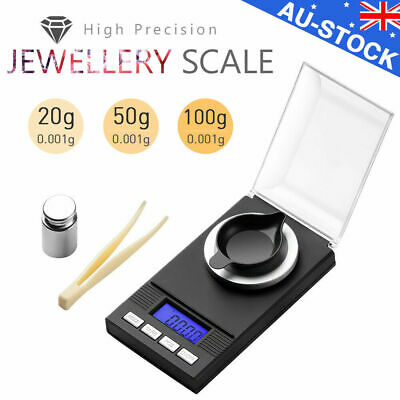High Precision Digital Pocket Scales Jewellery Gold Electronic Milligram micro