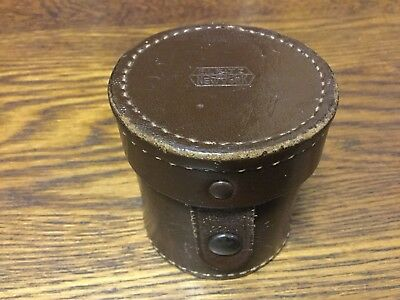 Old E LEITZ WETZLAR Leica - Leather Elmar / Summitar Lens or Viewer Case.