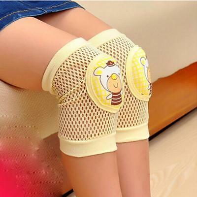 Kids Toddlers Infant Baby Safety Crawling Elbow Knee Pads Cushion Anti-Slip FI