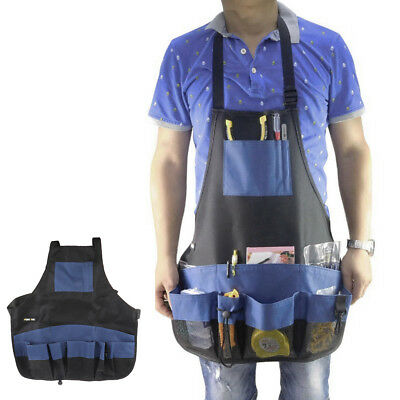 MagiDeal Oxford Multi Pockets Apron Woodworkers Carpenters Tool Work Pouch
