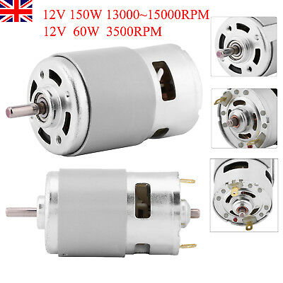 DC 12V 60/150W  Brush Brushless Motor Large Torque High Power for Electric Tool