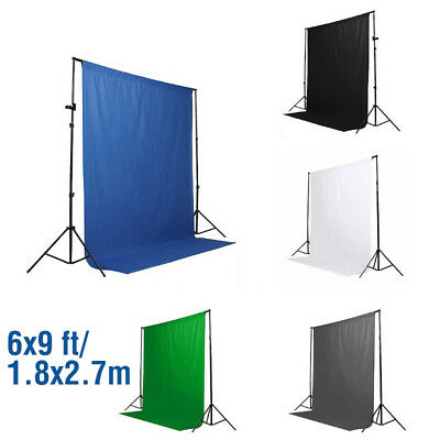 6x9ft 1.8x2.7m Toile de Fond Tissu Coton Backdrop Photographie Photo Studio Déco