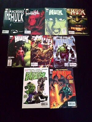 The Incredible Hulk Comics x 9 Modern Marvel Joblot (2002-2005)