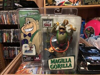2006 Mcfarlene Magilla Gorilla And Mr Peabody, Hanna Barbera Series 2 Figures