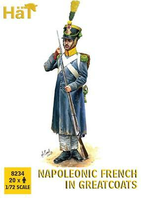 Hat 1/72 Napoleonic French in Greatcoats # 8234