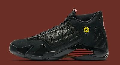 576bede3a70 2018 Nike Air Jordan 14 XIV Retro Last Shot size 11.5. Black Red. playoffs