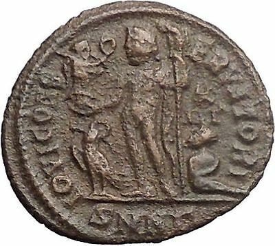 LICINIUS I Constantine I enemy 321AD Ancient Roman Coin NUDE JUPITER i30908
