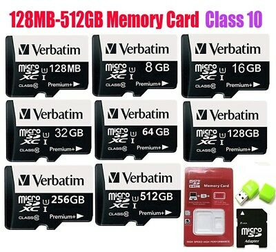8/16/32/64/128/256/512GB Micro TF Memory Card SD Card HC Class 10 for Phones Lot