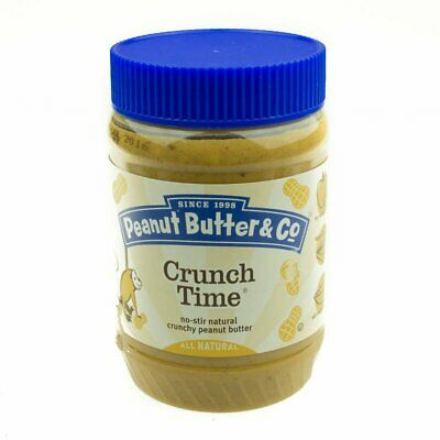 Peanut Butter & Co. Crunch Time Peanut Butter 454gr