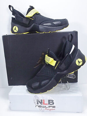 reputable site 9a5b4 8db59 Nike Air Jordan Trunner LX Thunder Black Opti Yellow 897992-031 Men s Size  10.5