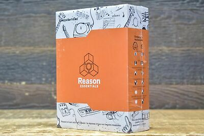 Propellerhead Reason Essentials 2 French Version Music Production Software Boxed