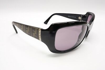 b6b172f0d5 Nice FENDI FS502 Rx Sunglasses Frames 001 Black Brown 61  16-120 Italy
