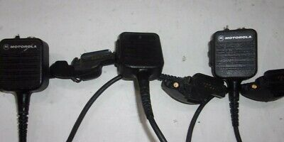 Lot of 3 Motorola Impres NMN6250A Microphone SEE NOTES