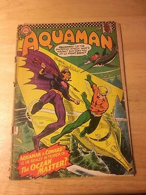 Aquaman #29 (Sep-Oct 1966, DC) Ocean Master 1st Appearance Key