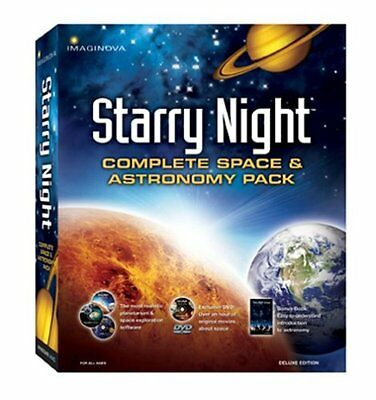 Starry Night: Complete Space & Astronomy Pack - Deluxe Edition (CD & DVD) PC/Mac