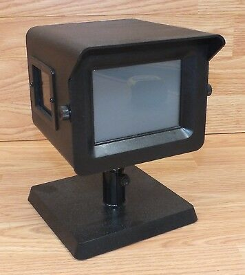 Unbranded Solid Black Possible Slide Viewer Box With Mirror Inside READ