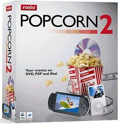 Roxio Popcorn 2 (Mac) popcorn 2 Helps You Make High-Quality Copies Of Your DVDs