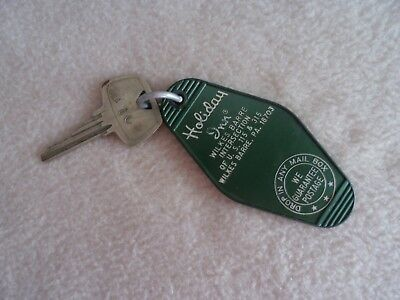 Vintage Holiday Inn Hotel Key & Fob Wilkes Barre, PA. room #102