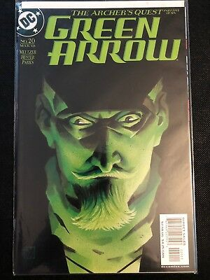 Green Arrow #20 (March 2003 DC Comics) The Archer's Quest 5 of 6 Meltzer, Hester