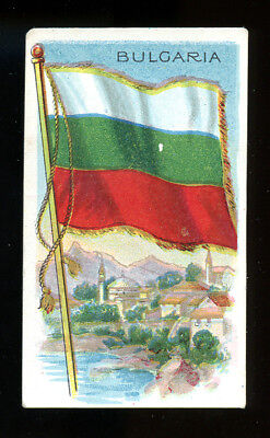 1911 T59 Flags of Nations Bulgaria Derby VG 98768