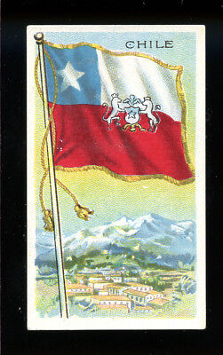 1911 T59 Flags of Nations Chile Derby VG 98719