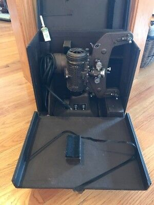 VINTAGE BELL & HOWELL FILMO-MASTER 8MM MOTION PICTURE PROJECTOR 1940's?