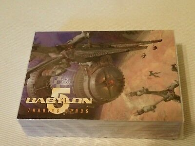 Babylon 5, Tradingcards, Series two, Complete Basic Set of 60 cards