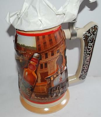 Anheuser Bush Stein Membership 1999 CB10 Golden age of Brewing