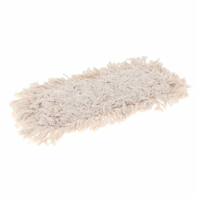 "16"" Industrial Strength Washable Cotton Dust Mop Refill for Cleaning Floor"