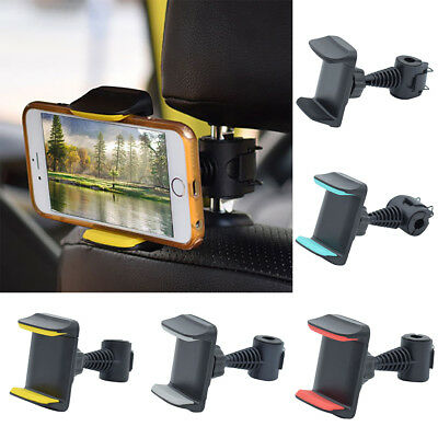 Universal Car Back Seat Headrest Phone Mount Holder Bracket For Iphone X  Ornate