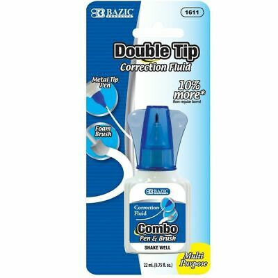 3 X BAZIC 2 in 1 Correction With Foam Brush Applicator and Pen Tip 22