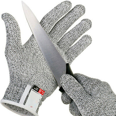 US Safety Cut Proof Stab Resistant Stainless Steel Wire Metal Mesh Butcher Glove