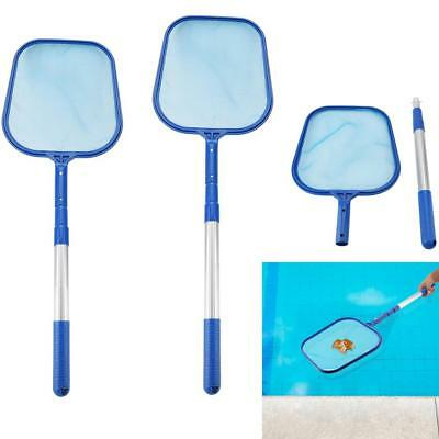 Swimming Pool Leaf Skimmer Mesh Net with Telescopic Pole Pond Tub Cleaning Tool